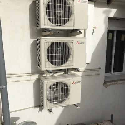 Instalación de 3 máquinas MITSUBISHI ELECTRIC