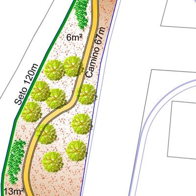 Diseño de zonas verdes