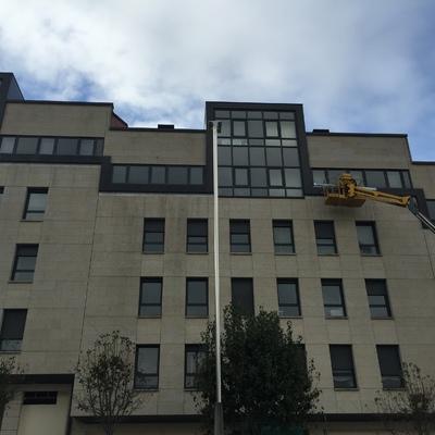 reparación de filtraciones en fachada