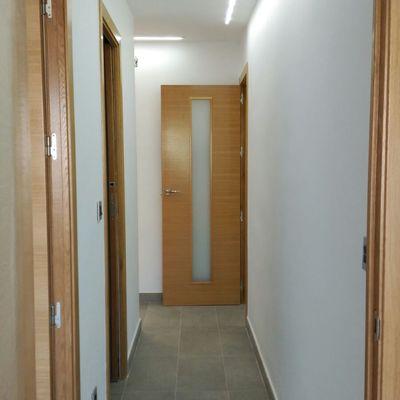 Cambio de puertas e instalación de led.