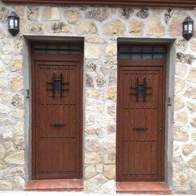 Puertas de entrada con forja