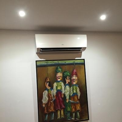 Suministro e instalación aire acondicionado tipo split 2x1 Fujitsu
