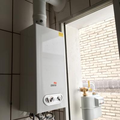 Instalación de calentador estanco 11 litros e instalación y alta de gas natural