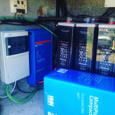 Ecualizacion de baterías de plomo ácido 1080Ah.
