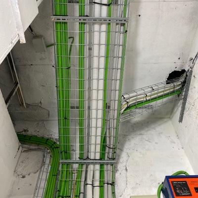 Estructura y Cableado en instalaciones en embarrado