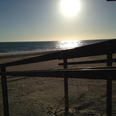 "Chiringuito ""Potito Beach"" en la playa de Cádiz"
