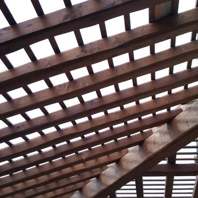 rehabilitación techos con vigas de madera