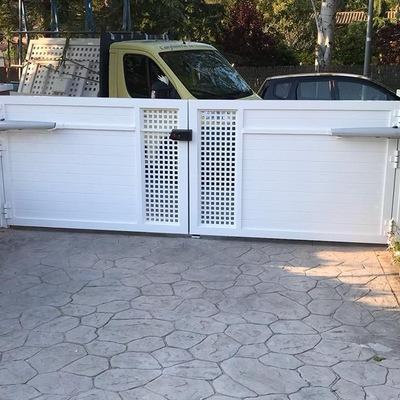 Puerta doble batiente aluminio