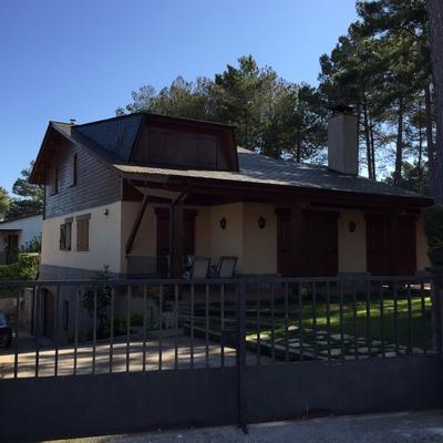 casa amb fusta