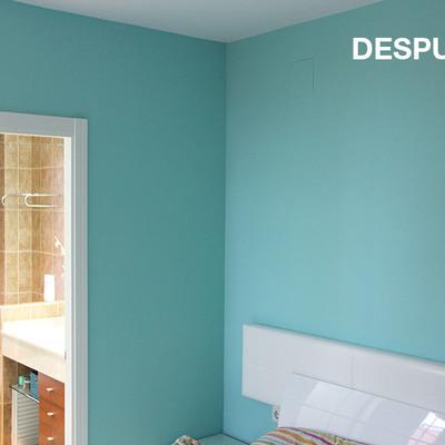Pintura las paredes