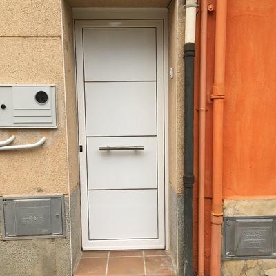 Porta d'entrada vivenda