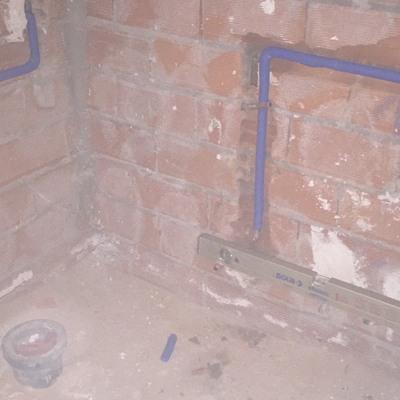 Modificacion nuevo toallero y toma de agua para cisterna