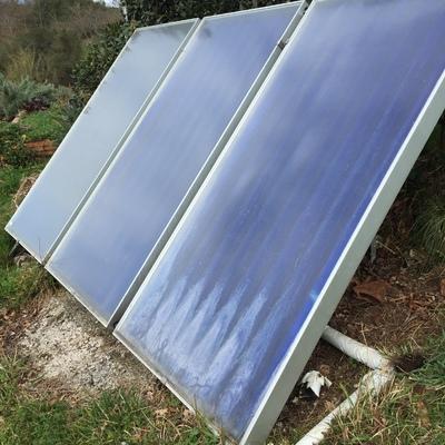 Instalación de placas solares para acs