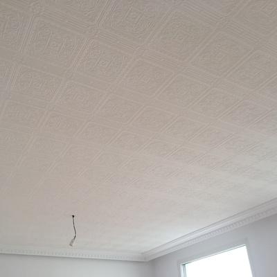 Papel pintado en techo