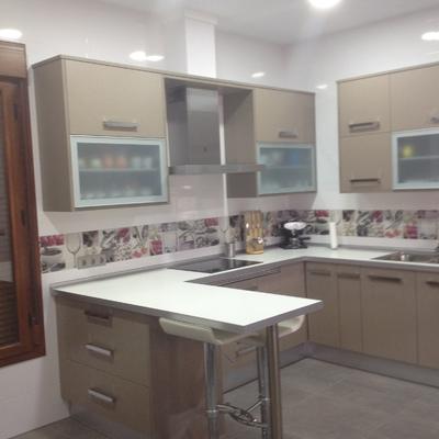 Presupuesto muebles cocina formica online habitissimo for Formica madera