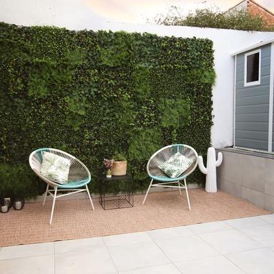 Paredes decorativas artificiales para jardín vertical