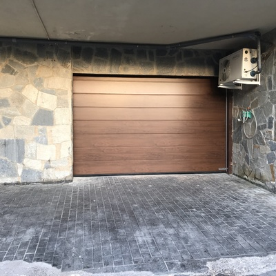 Puerta seccional residencial Hörmann
