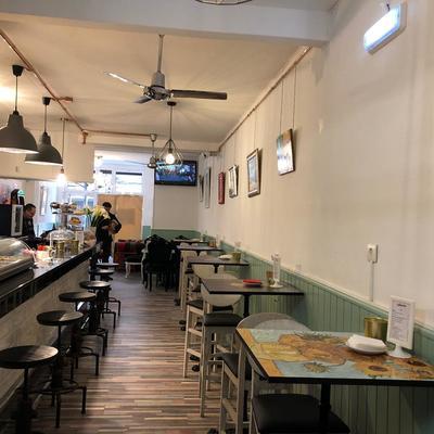 Living Café vista general