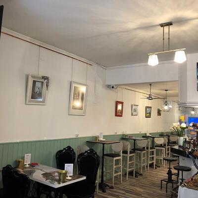 Living Café mesas altas