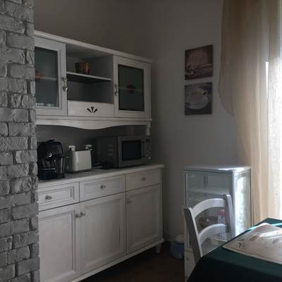 Parte de la cocina que se renovó por completo