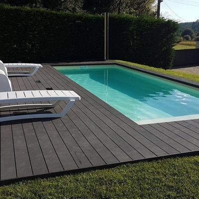 Suelos para terrazas y piscinas exteriores sin obra