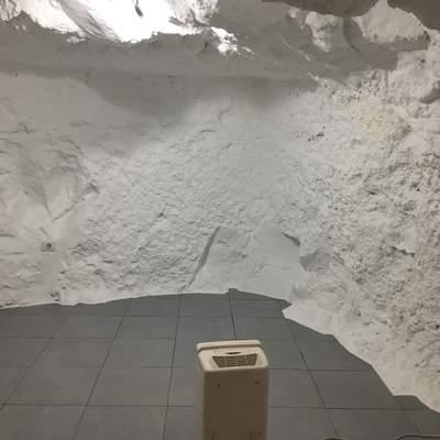 Trabajo finalizado, habitación cueva