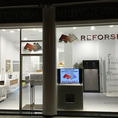 reforma oficina Reforser