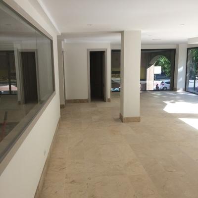Salon y puertas terminadas