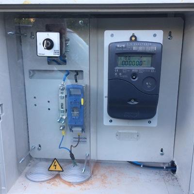 Armario de medida de generación solar FV homologado por compañía eléctrica