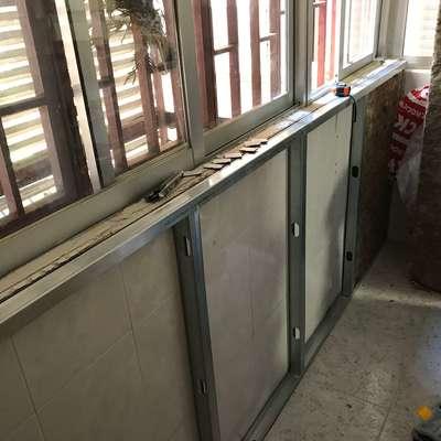 Aislamiento de terraza y tendedero y cambio de ventanas.