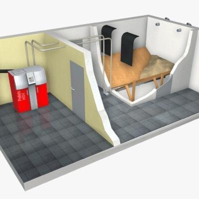 Esquema de cuarto de calderas