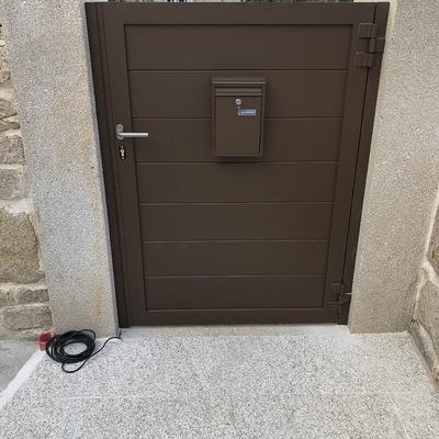 Puerta peatonal lama 200 horizontal