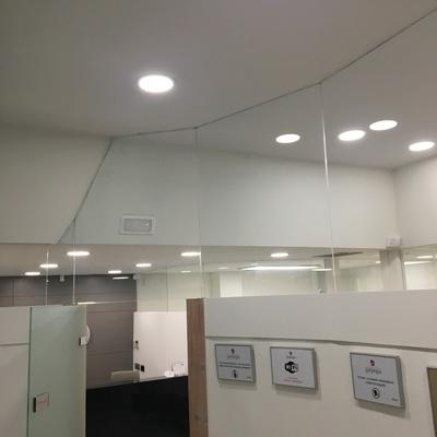 SUSTITUCION DE HALOGENOS POR LED EN CLINICA GURPEGUI
