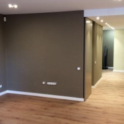 Quitar gotele alisar paredes y pintura