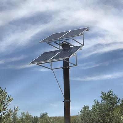 instalacion placas solares para casa de campo