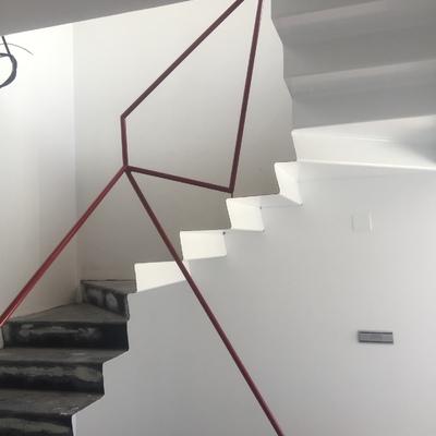 Escaleras metálicas 1 sola pieza