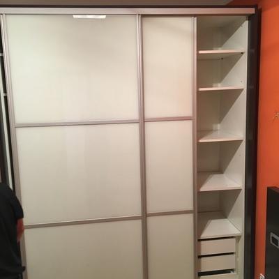 Desmontaje y montaje armario puertas cristal correderas