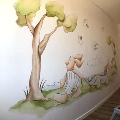 Pintado y decorado de dormitorio infantil