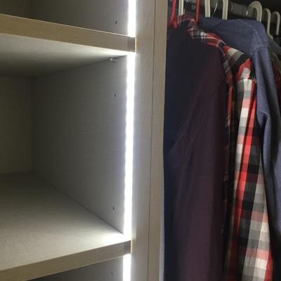Iluminacion led interior armarios