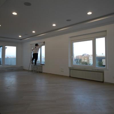 Salon vista a terraza