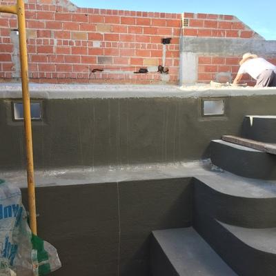 Impermeabilizacion - Construcciones Piscina en Planta Atico
