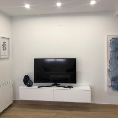 Mueble minimalista tv