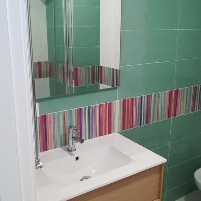 Reforma baño en piso centro Pontevedra.