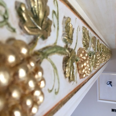 Ornamentación en techo