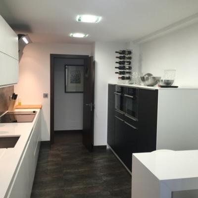 Cocina piso en A Coruña.