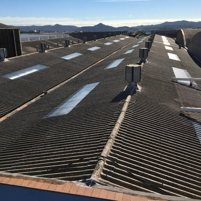 Proyecto Sustitución de Lucernarios en Nave Industrial 3.000M2.