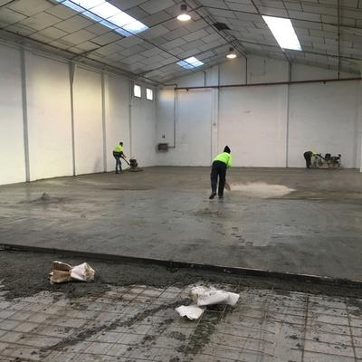Proyecto Rehabilitación de pavimento Nave Industrial