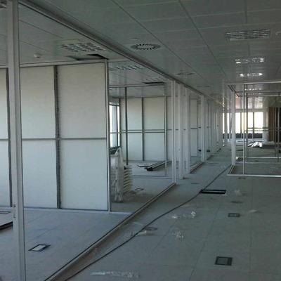 Oficinas  vidrio-aluminio -madera