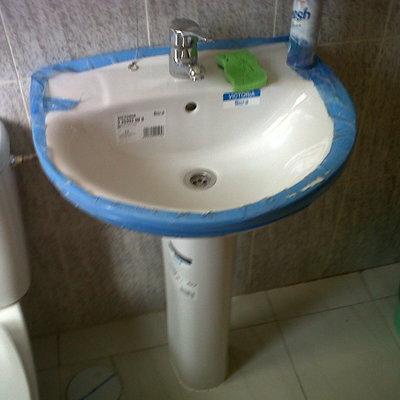 sustituir lavabo