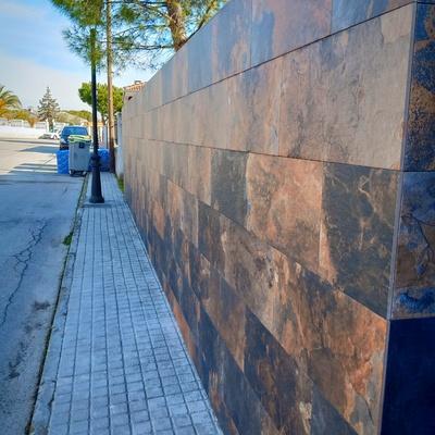 Alicatados de muro exterior
